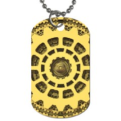 Gears Dog Tag (One Side)