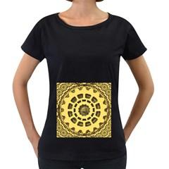 Gears Women s Loose-Fit T-Shirt (Black)