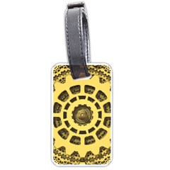 Gears Luggage Tags (two Sides)