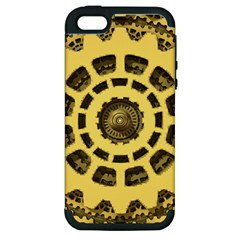 Gears Apple iPhone 5 Hardshell Case (PC+Silicone)