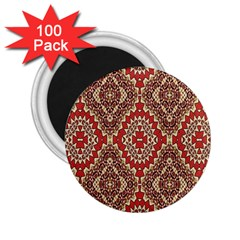 Seamless Carpet Pattern 2.25  Magnets (100 pack)