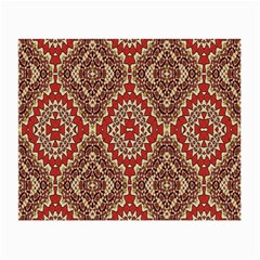 Seamless Carpet Pattern Small Glasses Cloth (2-Side)