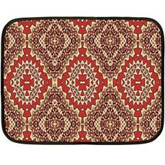 Seamless Carpet Pattern Double Sided Fleece Blanket (Mini)