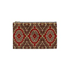 Seamless Carpet Pattern Cosmetic Bag (Small)