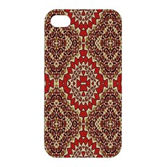 Seamless Carpet Pattern Apple Iphone 4/4s Premium Hardshell Case