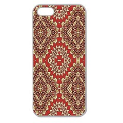 Seamless Carpet Pattern Apple Seamless iPhone 5 Case (Clear)