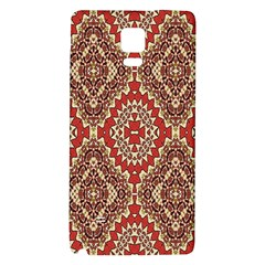 Seamless Carpet Pattern Galaxy Note 4 Back Case
