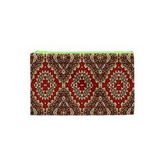 Seamless Carpet Pattern Cosmetic Bag (XS)