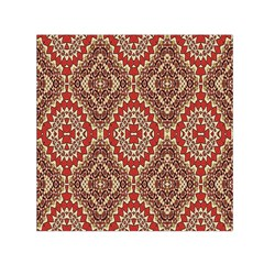 Seamless Carpet Pattern Small Satin Scarf (Square)