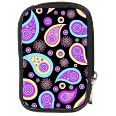 Paisley Pattern Background Colorful Compact Camera Cases