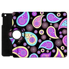 Paisley Pattern Background Colorful Apple Ipad Mini Flip 360 Case