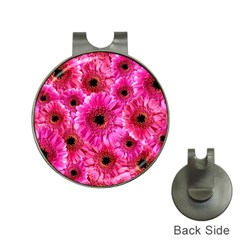 Gerbera Flower Nature Pink Blosso Hat Clips with Golf Markers