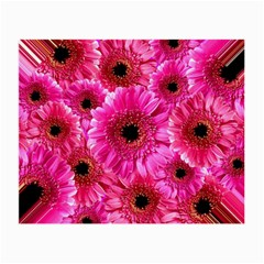 Gerbera Flower Nature Pink Blosso Small Glasses Cloth (2-Side)