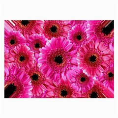 Gerbera Flower Nature Pink Blosso Large Glasses Cloth (2-Side)