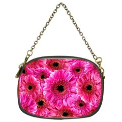Gerbera Flower Nature Pink Blosso Chain Purses (One Side)