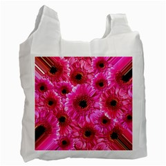 Gerbera Flower Nature Pink Blosso Recycle Bag (Two Side)