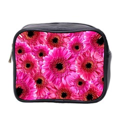 Gerbera Flower Nature Pink Blosso Mini Toiletries Bag 2 Side