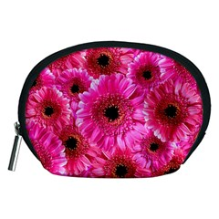 Gerbera Flower Nature Pink Blosso Accessory Pouches (medium)