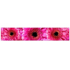 Gerbera Flower Nature Pink Blosso Flano Scarf (Large)