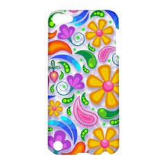 Floral Paisley Background Flower Apple Ipod Touch 5 Hardshell Case