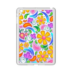 Floral Paisley Background Flower Ipad Mini 2 Enamel Coated Cases