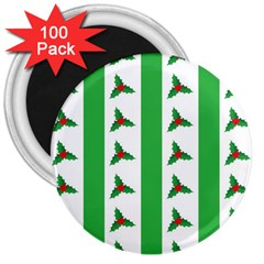 Holly 3  Magnets (100 pack)