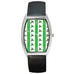 Holly Barrel Style Metal Watch