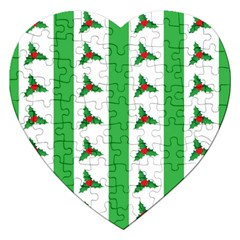 Holly Jigsaw Puzzle (Heart)