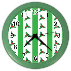Holly Color Wall Clocks