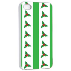 Holly Apple iPhone 4/4s Seamless Case (White)