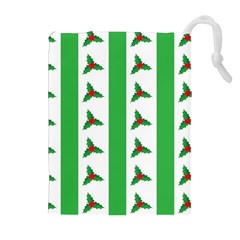 Holly Drawstring Pouches (Extra Large)