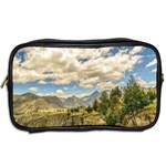 Valley And Andes Range Mountains Latacunga Ecuador Toiletries Bags 2-Side Back