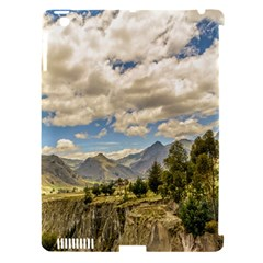 Valley And Andes Range Mountains Latacunga Ecuador Apple Ipad 3/4 Hardshell Case (compatible With Smart Cover)