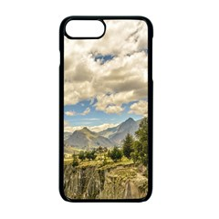 Valley And Andes Range Mountains Latacunga Ecuador Apple Iphone 7 Plus Seamless Case (black)