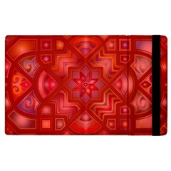 Geometric Line Art Background Apple iPad 2 Flip Case