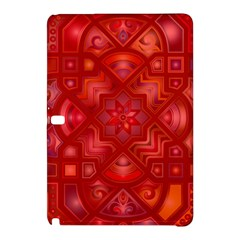 Geometric Line Art Background Samsung Galaxy Tab Pro 12 2 Hardshell Case