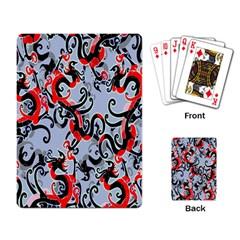Dragon Pattern Playing Card