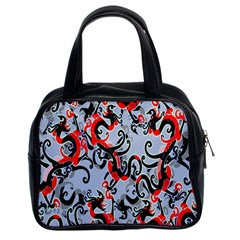 Dragon Pattern Classic Handbags (2 Sides)