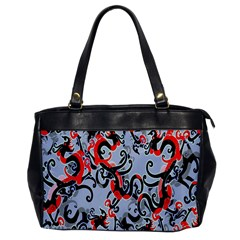 Dragon Pattern Office Handbags
