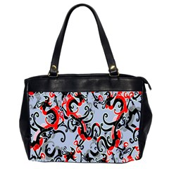 Dragon Pattern Office Handbags (2 Sides)
