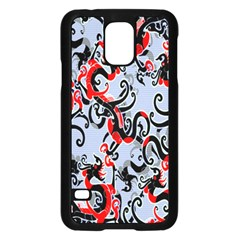 Dragon Pattern Samsung Galaxy S5 Case (black)