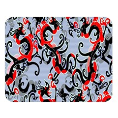 Dragon Pattern Double Sided Flano Blanket (large)