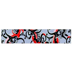 Dragon Pattern Flano Scarf (Small)