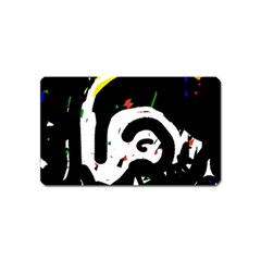 Abstraction Magnet (Name Card)