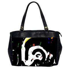 Abstraction Office Handbags (2 Sides)