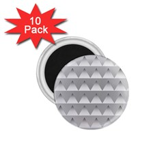 Pattern Retro Background Texture 1.75  Magnets (10 pack)