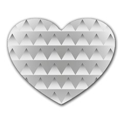 Pattern Retro Background Texture Heart Mousepads