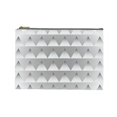 Pattern Retro Background Texture Cosmetic Bag (large)