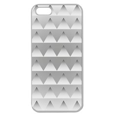 Pattern Retro Background Texture Apple Seamless iPhone 5 Case (Clear)