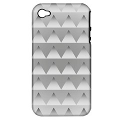 Pattern Retro Background Texture Apple iPhone 4/4S Hardshell Case (PC+Silicone)